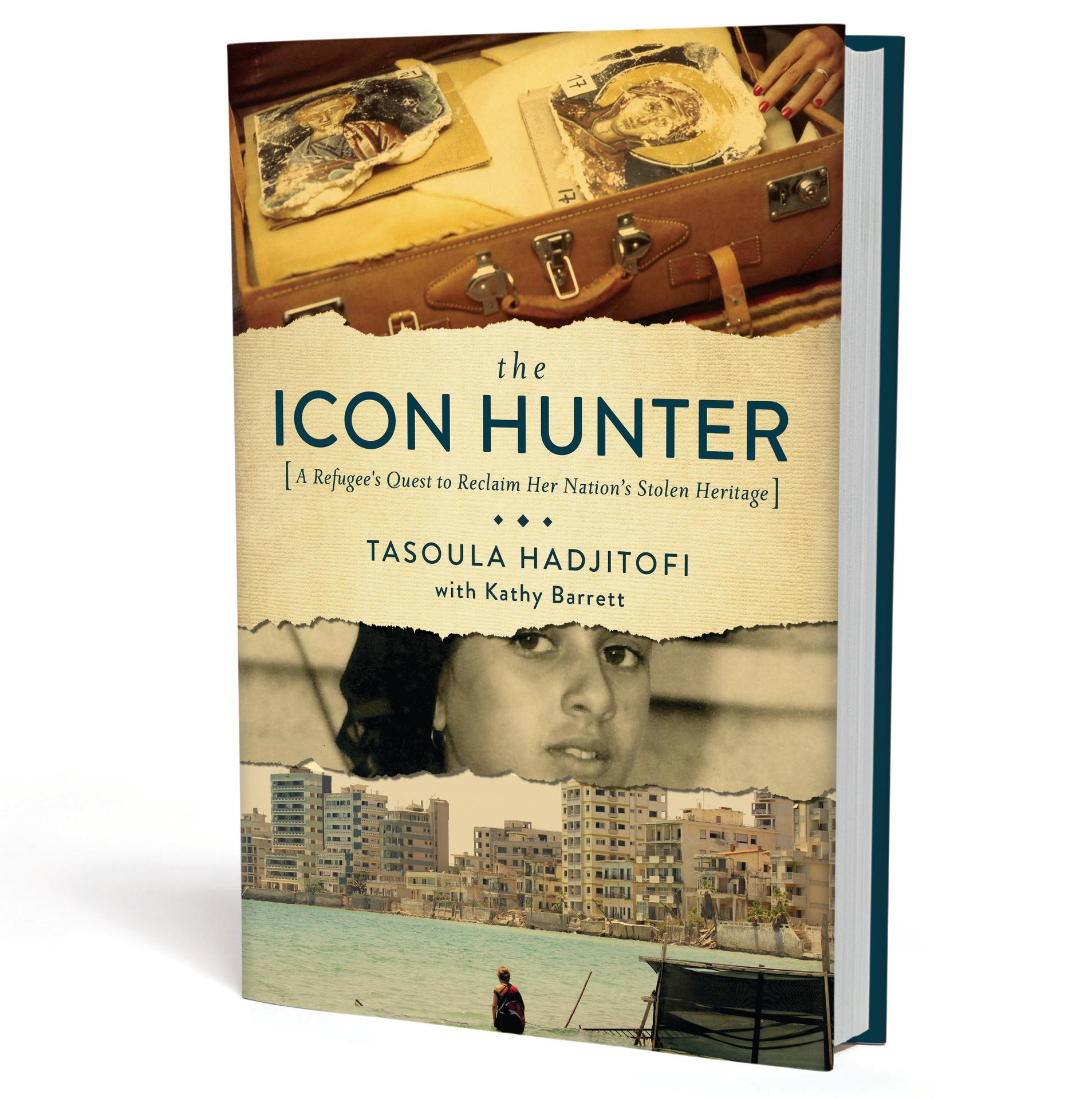 The Icon Hunter book cover